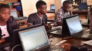 Acquiring skills for young people living slum communities of Jinja City Uganda.