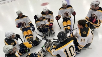 Northeast passage sled hockey