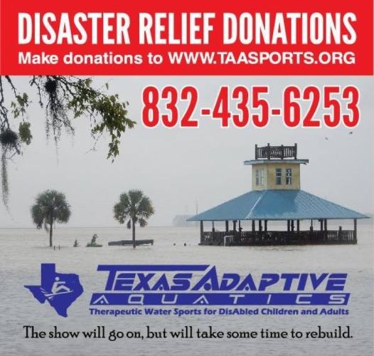 Help Rebuild after Hurricane Harvy for Texas Adaptive Aquatics