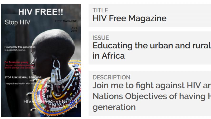 HIV & AIDS Prevention Free Magazine Distribution in Tanzania