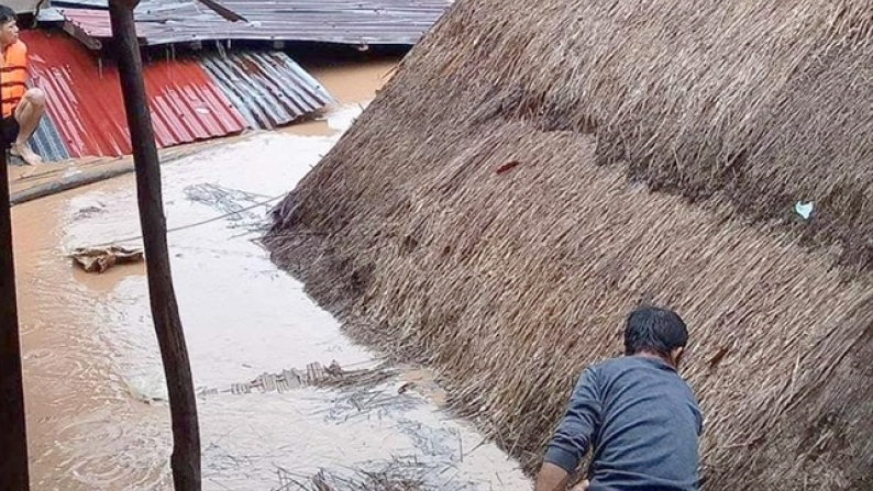Help feed and shelter flood displaced victims