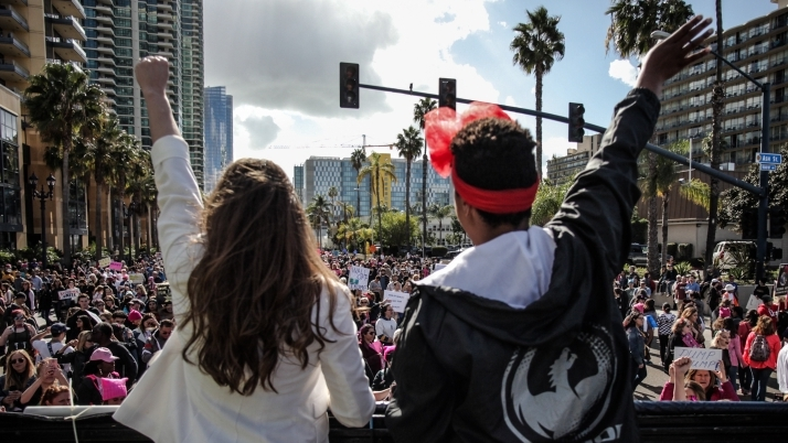 Annual March Giving | Women's March San Diego