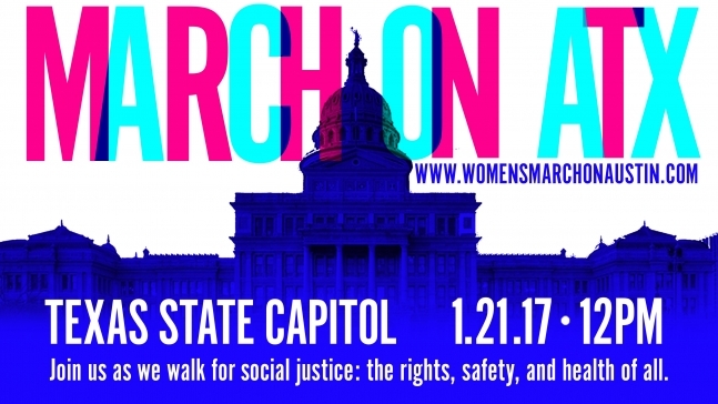 Women's March on Washington and Austin