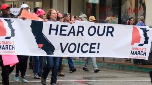 Women's March San Luis Obispo Action and Advocacy